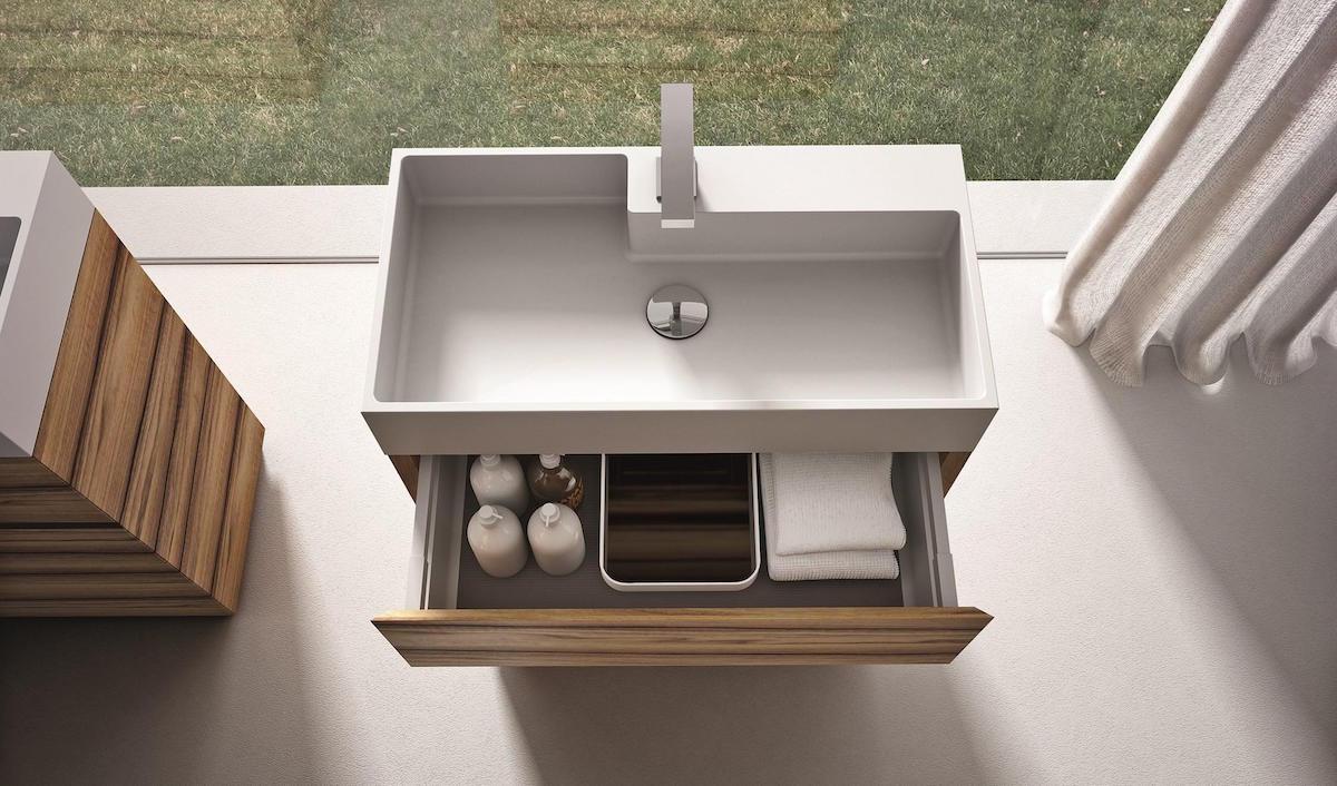 Mobile per bagno Ideagroup con cassetti