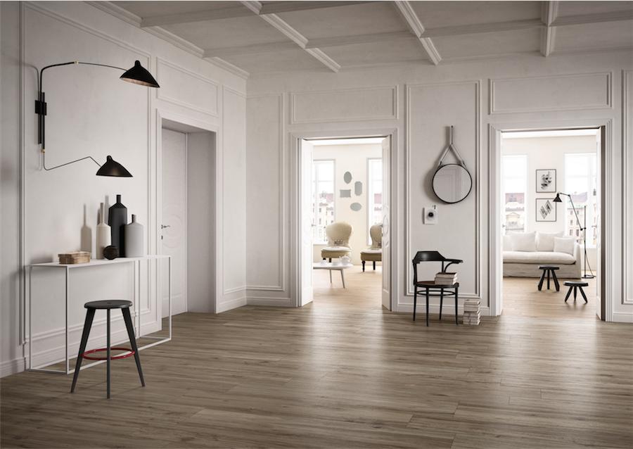 Piastrelle Effetto Legno Tortora : Gres porcellanato effetto legno cascino showroom