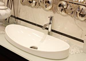 stile classico lavabo da appoggio