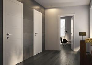 porte in legno bianco garofoli