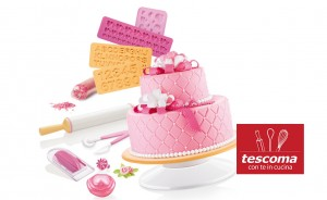 Accessori per cake design di Tescoma