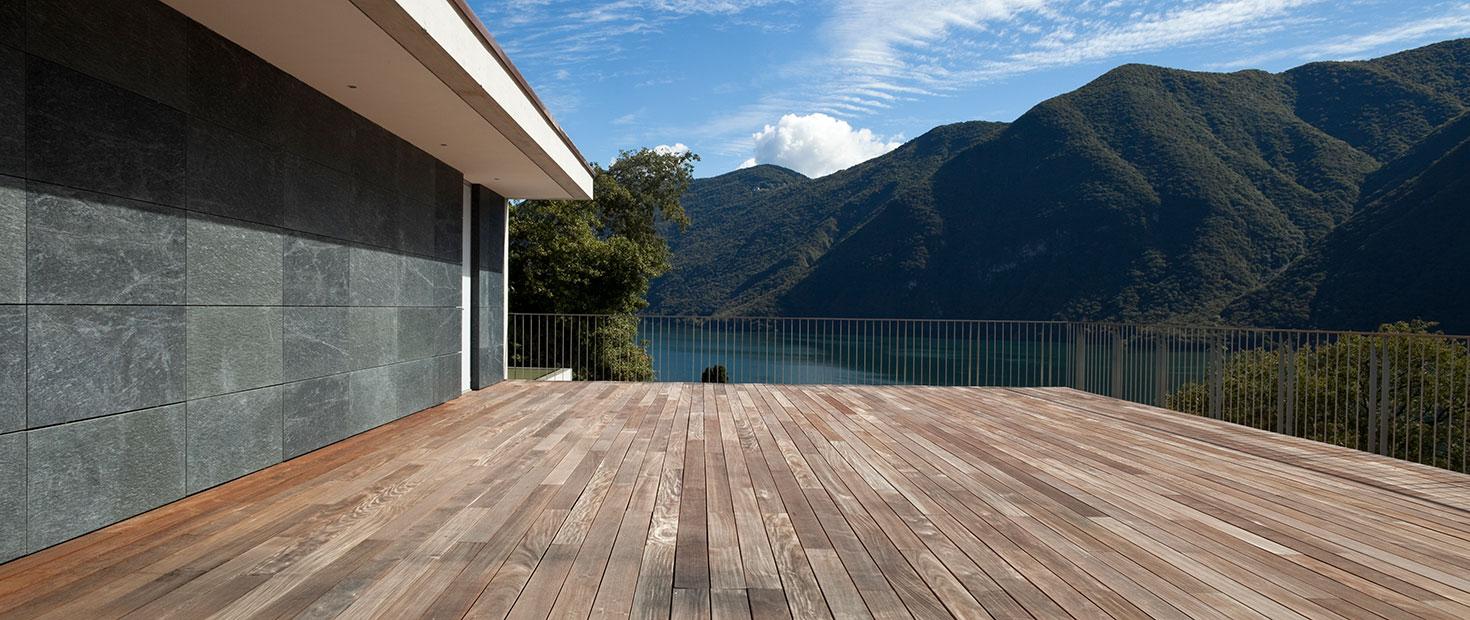 Pavimenti in legno da esterno