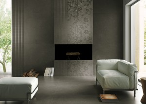 rivestimento moderno grigio