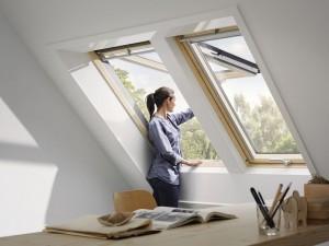 finestra a tetto velux