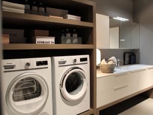 lavanderia organizzata