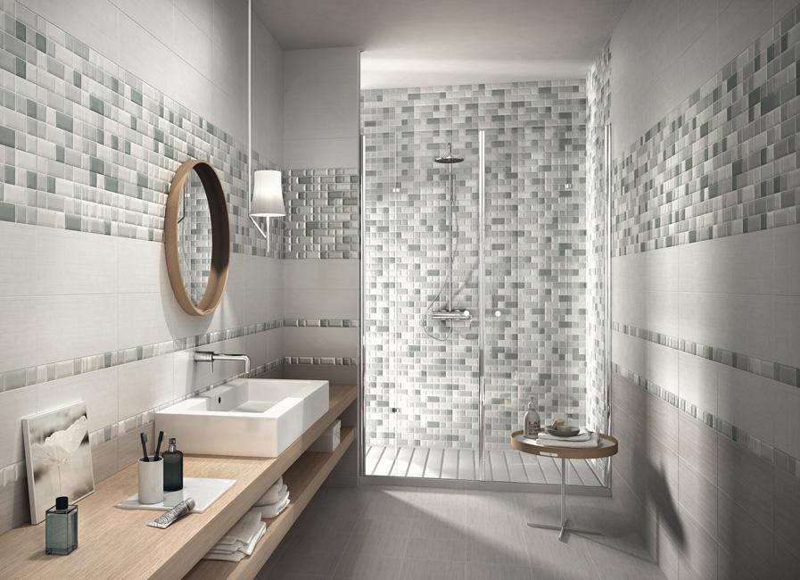 Rinnova il tuo bagno guida alla scelta delle piastrelle - Altezza mattonelle bagno ...