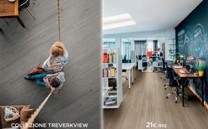 Treverkview collezione di pavimenti Marazzi